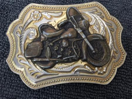 Harley Davidson Vintage Buckle