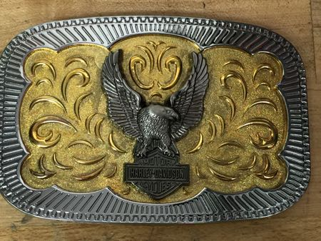 Harley Davidson Eagle Buckle
