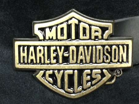 Harley Davidson Bar & Shield Buckle