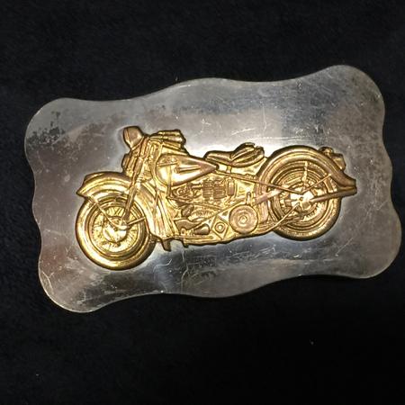 Vintage Harley Davidson Pan Head  Buckle