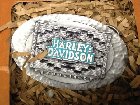 Harley Davidson 1995 Sturgis Buckle