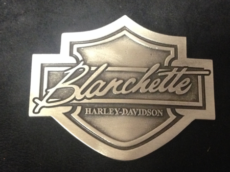 Harley Davision Pewter B&S Buckle
