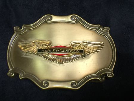 Harley Davidson 1978  Eagle Wing  Buckle