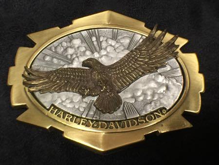Harley Davidson 1996 Brass Eagke Buckle