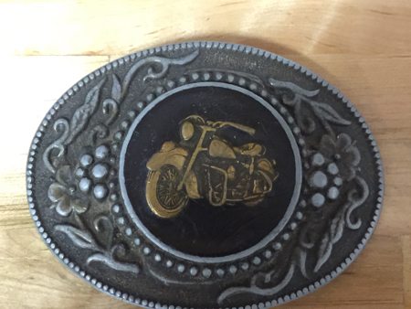 Harley  Indian Buckle