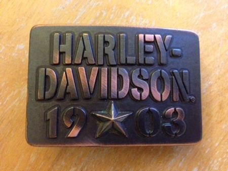Harley Davidson 1903 Buckle (New)