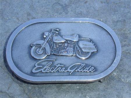Vinatge Electra glide buckle