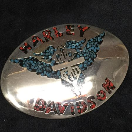 Vintage Harley Belt buckle