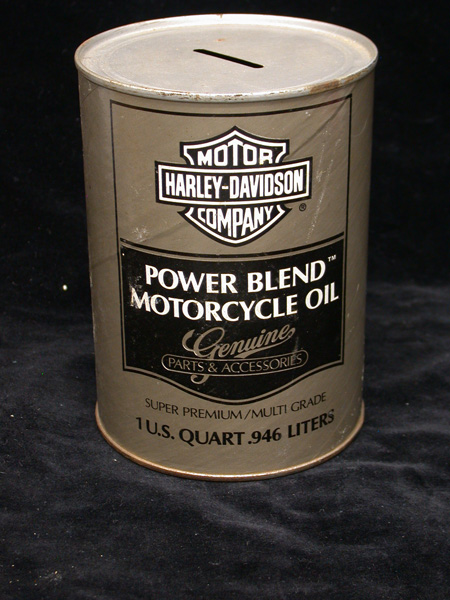 Vintage Oil Can Bank