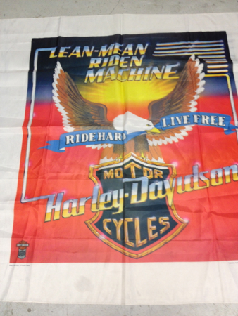 HD 1984 Vintage Cloth Banner