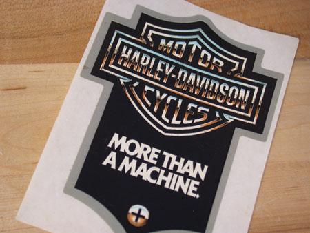 More Then A Machine Vinatge Sticker