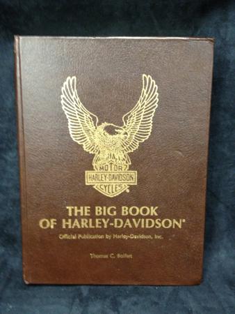 Harley Davidson Leather Bound Big Book #1262