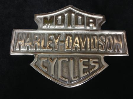 Harley Davidson Aluminum Bar&Shield Wall Art