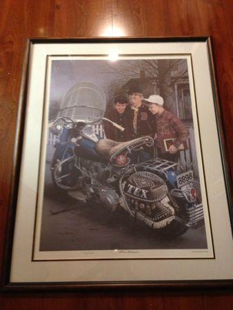 Harley Davidson Steven Dohanos Litho
