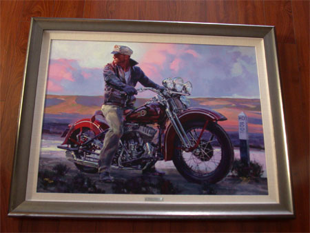 At a Hunnert Mile By Tom Fritz Giclee