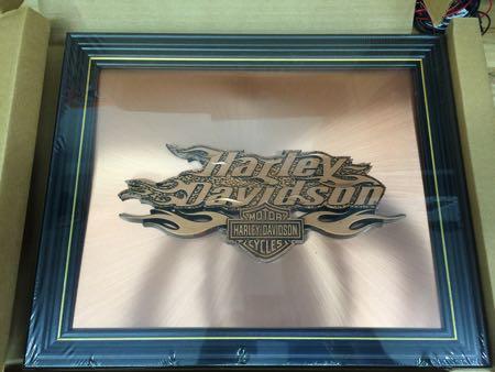 Harley Davidson Copper Art NIB