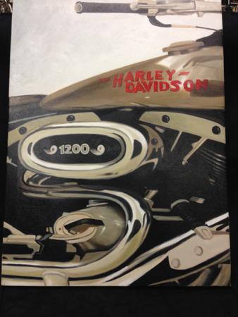 Harley Davidson Sportster Art