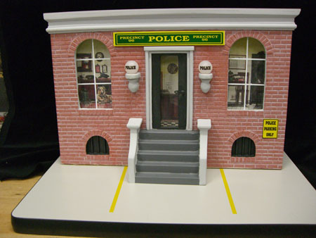 Police Station to park Your Harley Model
