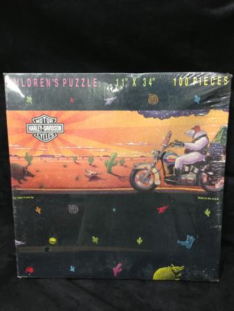 Vintage Harley Davidson 1990 Puzzle