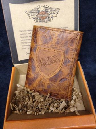 Harley Davidson Leather Wallet