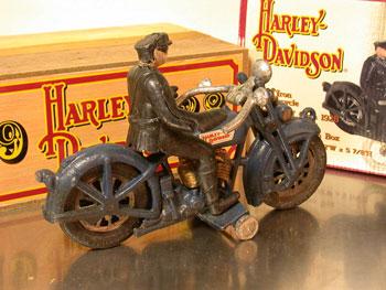 1928 Harley Davidson Cast iron Replica