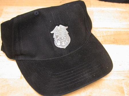 Harley Davidson  Medallion Police Cap