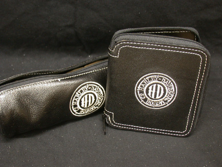 Harley Davidson Wallet and Sunglass case
