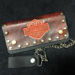 Vintage Harley Davidson Wallet NOS