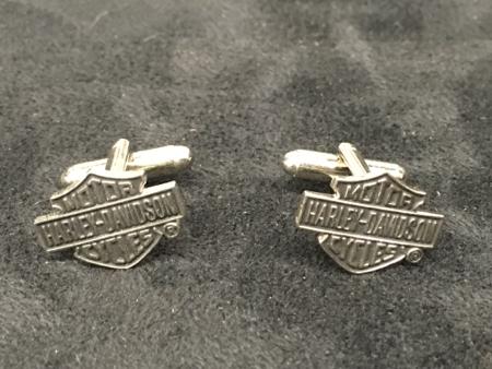 Harley Davidson Bar & Shield Cufflinks