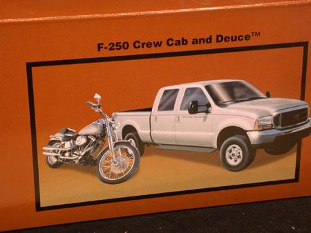 Harley Davidson F-250 with Deuce
