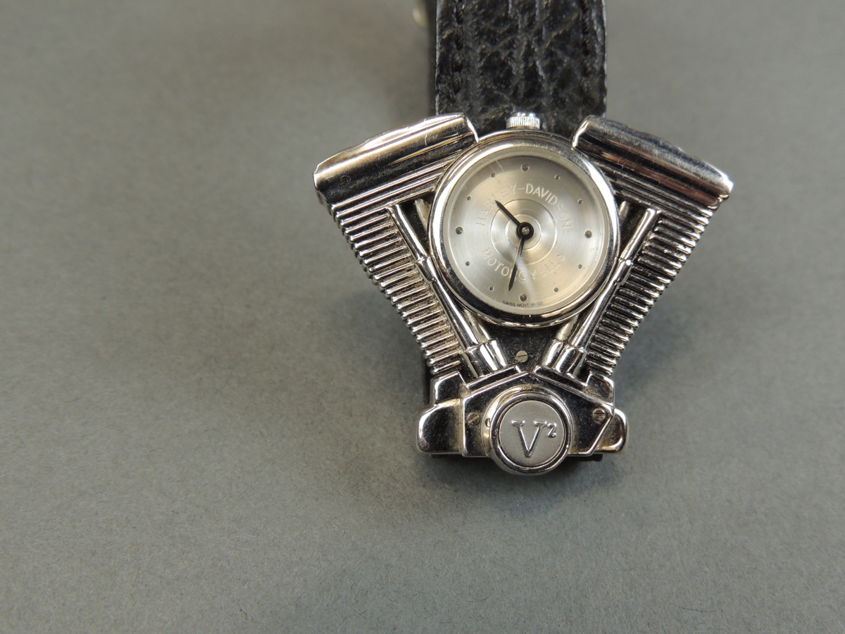 Harley-Davidson V-Twin Watch Vintage