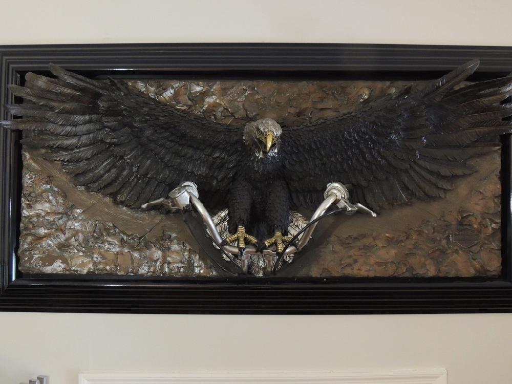 "BILL MACK ""Freedom "" Bonded Bronze"