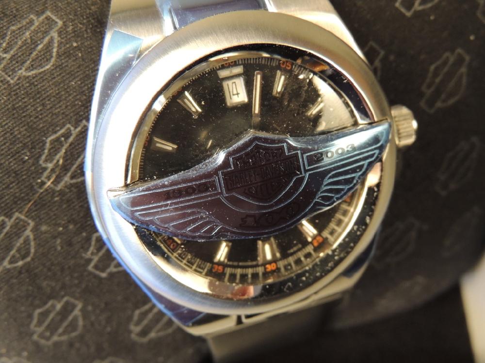 100th Anniversary Harley Davidson Flip Watch