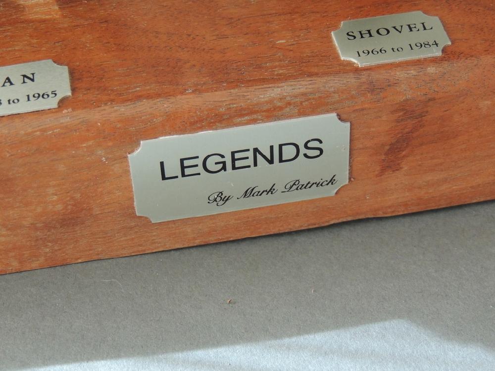 """Mark Patrick \""""Legends\"""" Pewter Engines"""