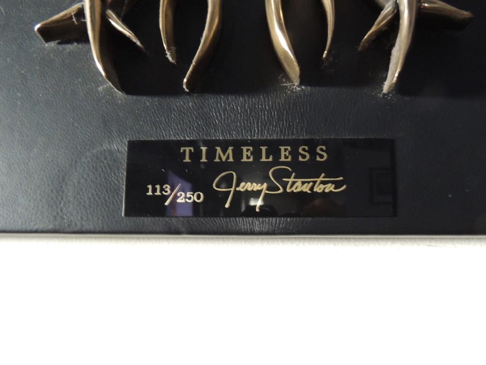 Timeless Harley Davidson 100th anniversary bronze by Jerry Stanton #113
