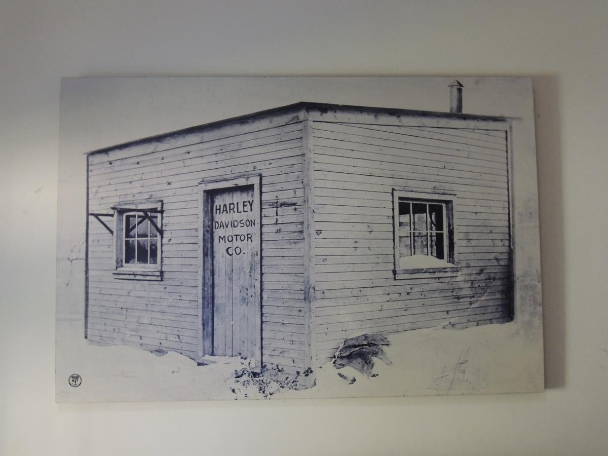 """Harley Davidson Dealer only Archive Huge Picture 48\"""" X 72\"""""""
