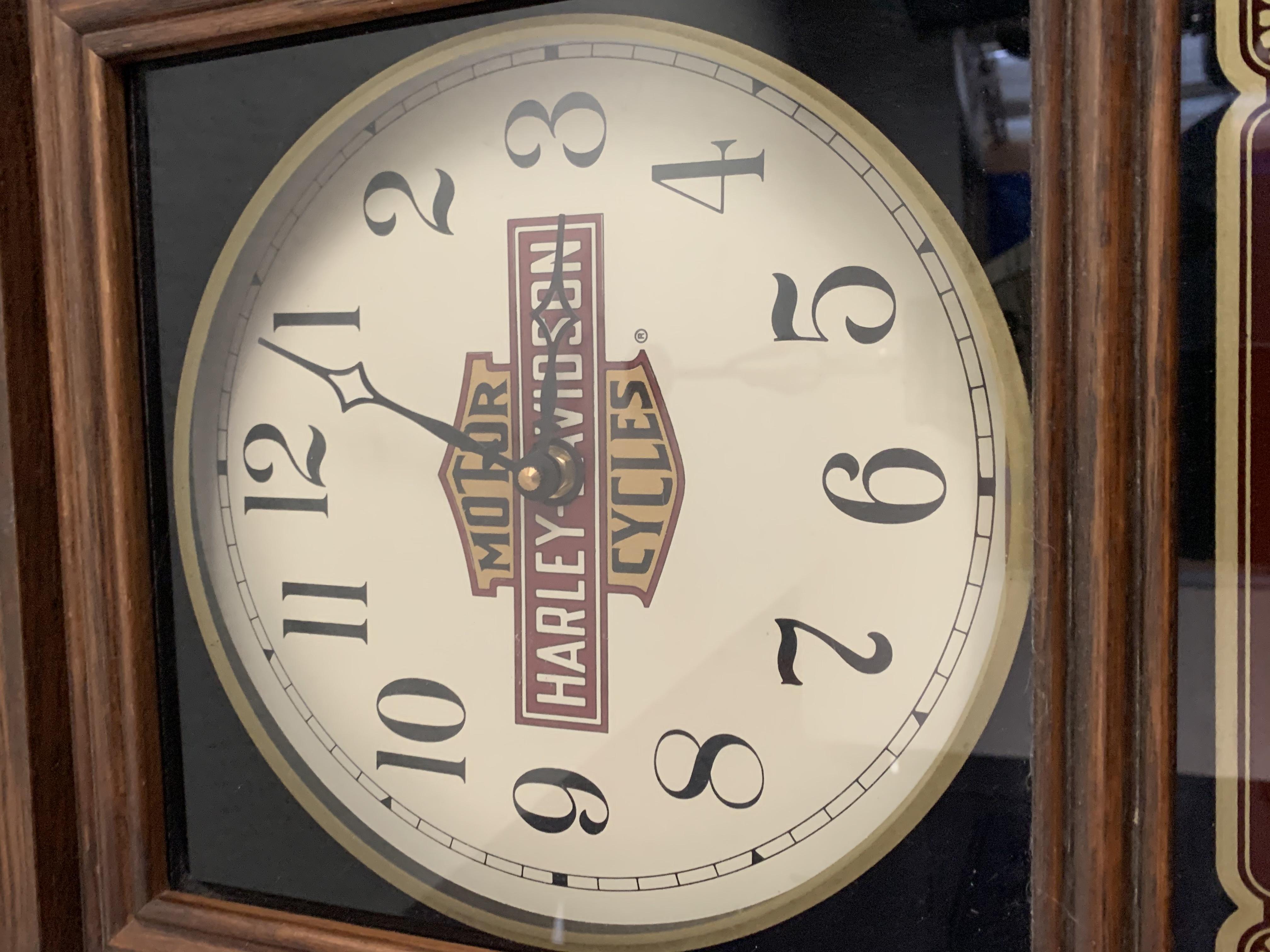 Harley-Davidson 1987 School house clock