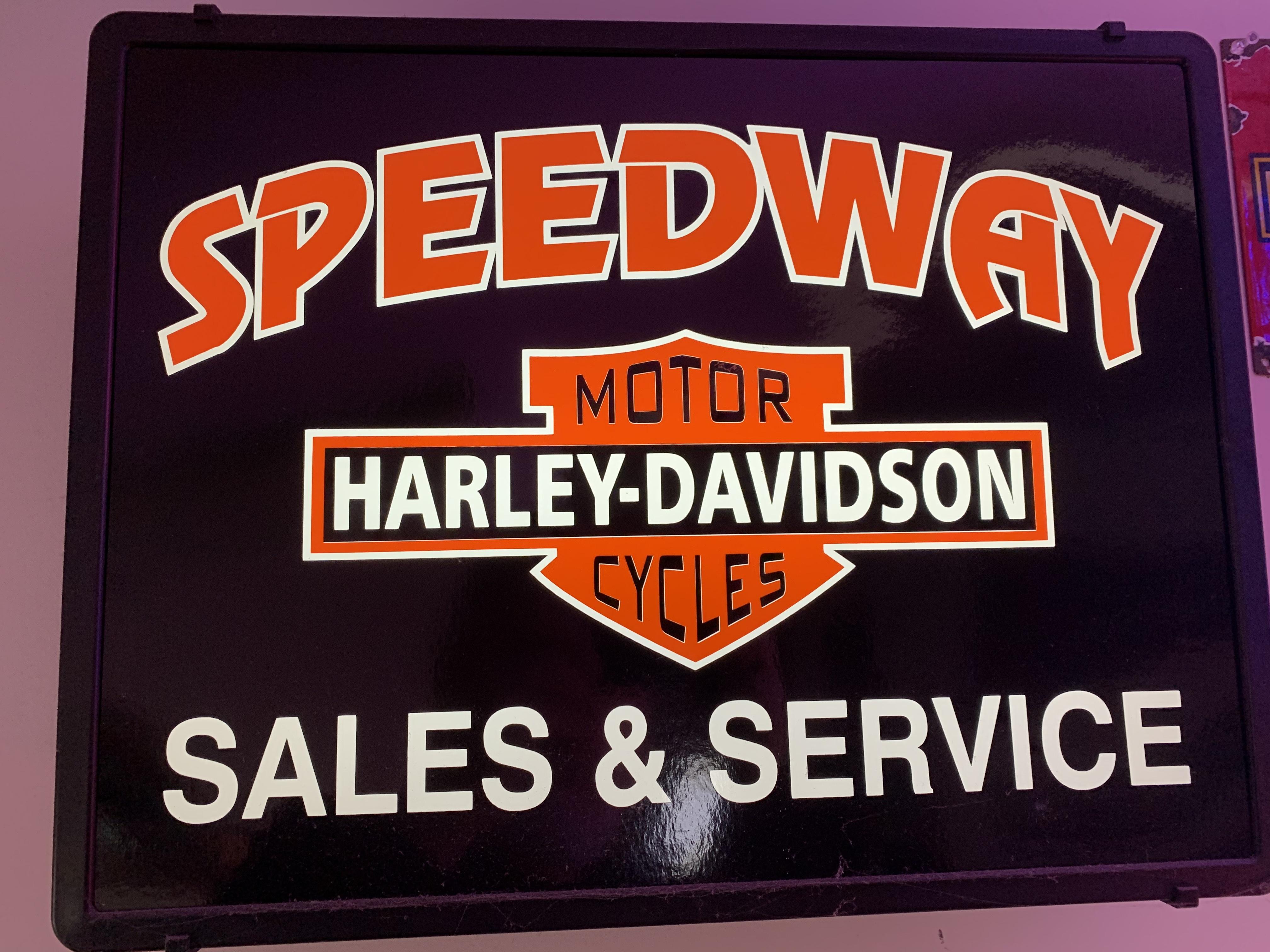 Harley-Davidson Sales & Service Sign