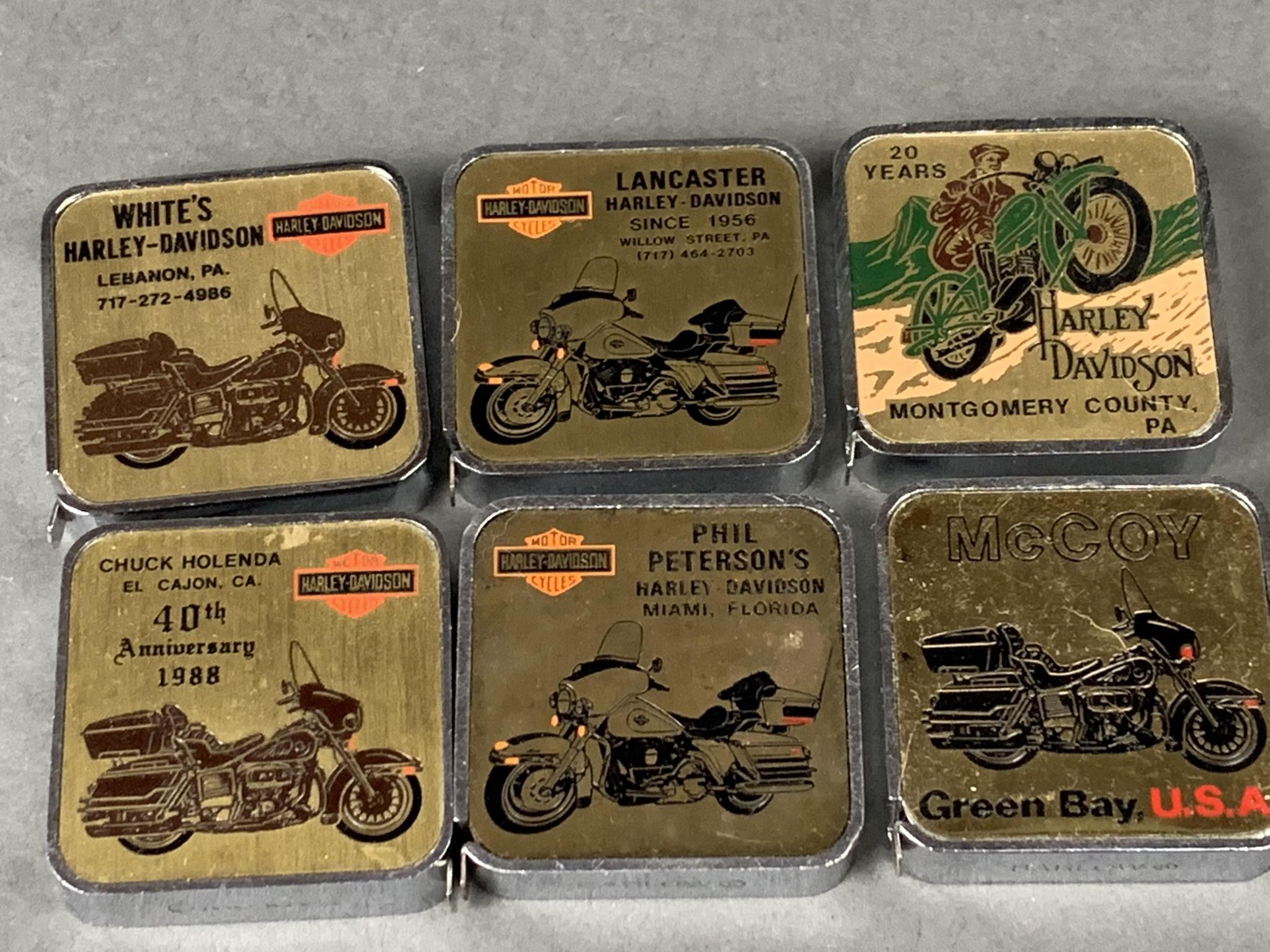 Harley Davidson Swag dealerships  Vintage Tape Measure