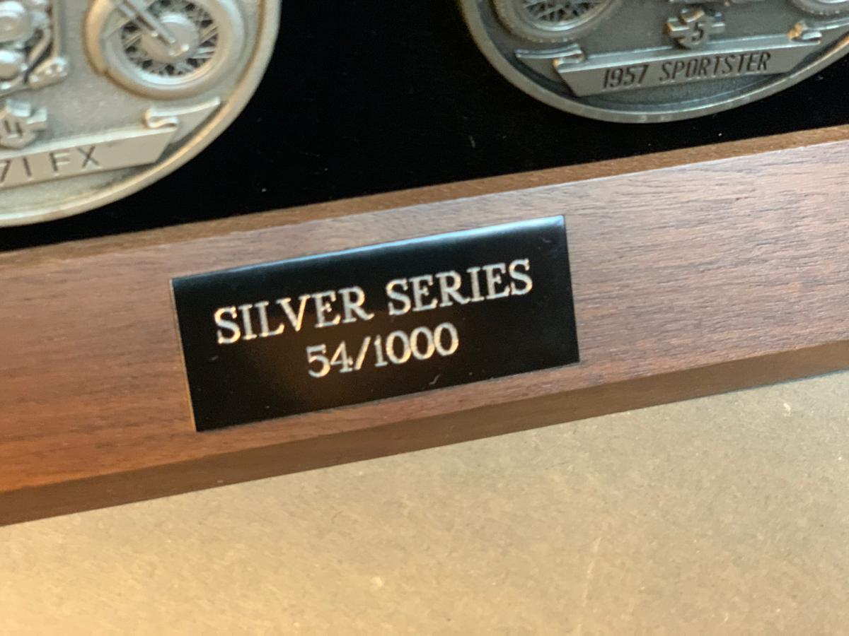 Harley-Davidson 85th Anniversary Medallion set #54