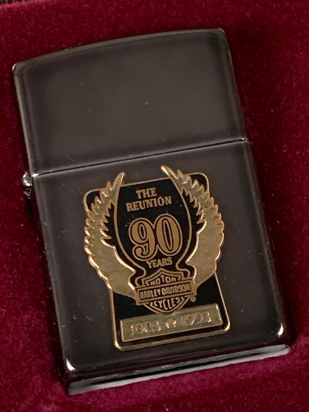 Harley Davidson 90th Anniversary Lighter