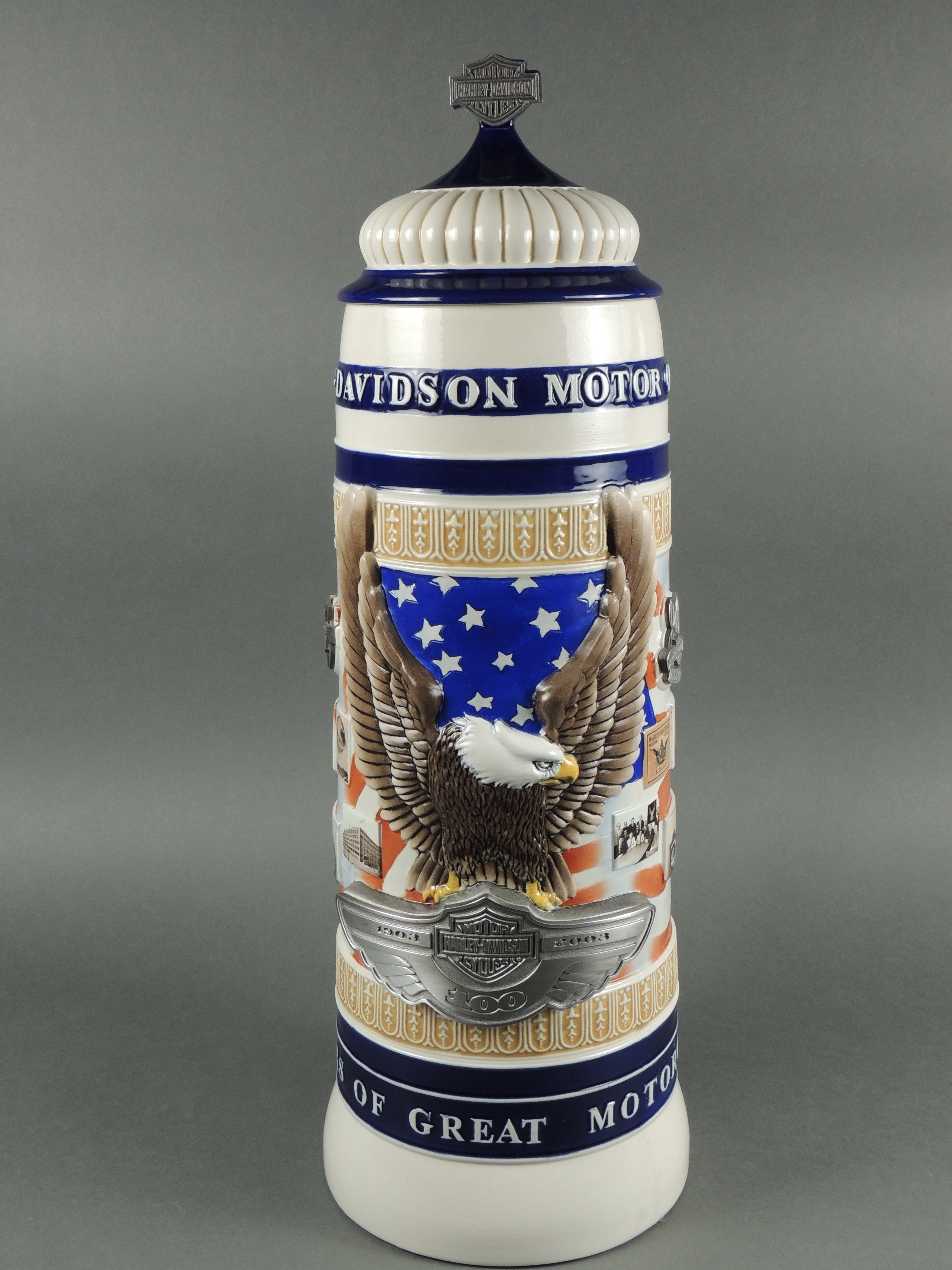 100th Anniversary huge Stein #200 Last one produced