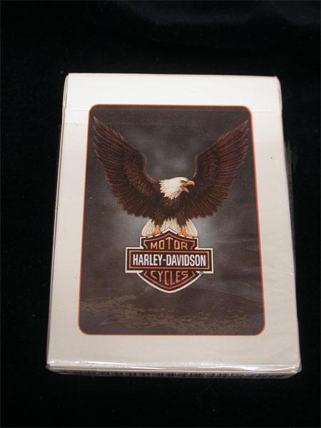 Harley Davidson Eagle logo Playing Cards