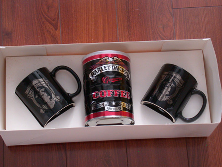 Harley Davidson Biker Brew / Mugs Gift Pack