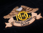 Large Harley Owners group Patch New