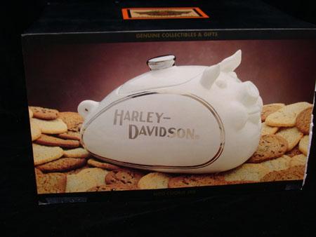 Harley Davidson HOG Cookie Jar