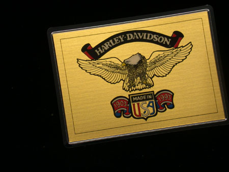 90th Anniversary Dyna Wide Glide Gold Card