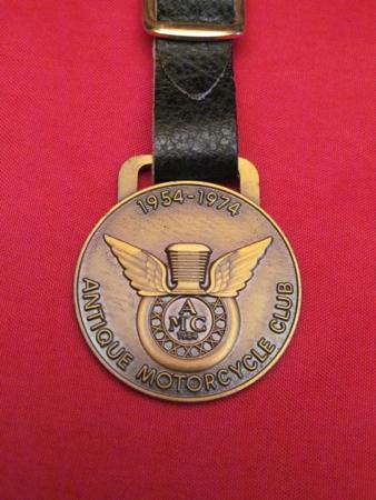 AMA 1954-1974 Watch Fob