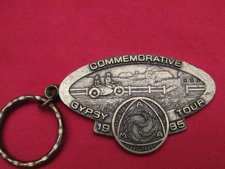1985 Commemorative Gypsy Tour Key Ring
