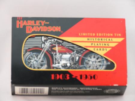 Harley Davidson Historical Playing Cards